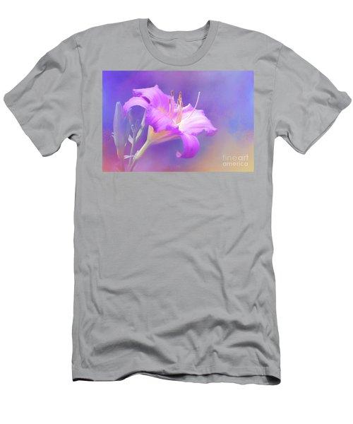 Pretty In Pastel Little Grapette Daylily Men's T-Shirt (Athletic Fit)