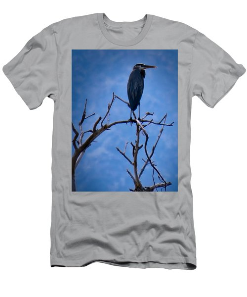 Great Blue Heron 3 Men's T-Shirt (Athletic Fit)