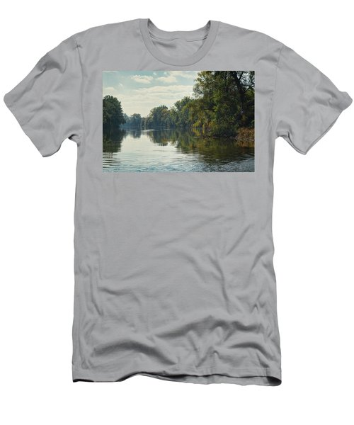 Great Morava River Men's T-Shirt (Athletic Fit)