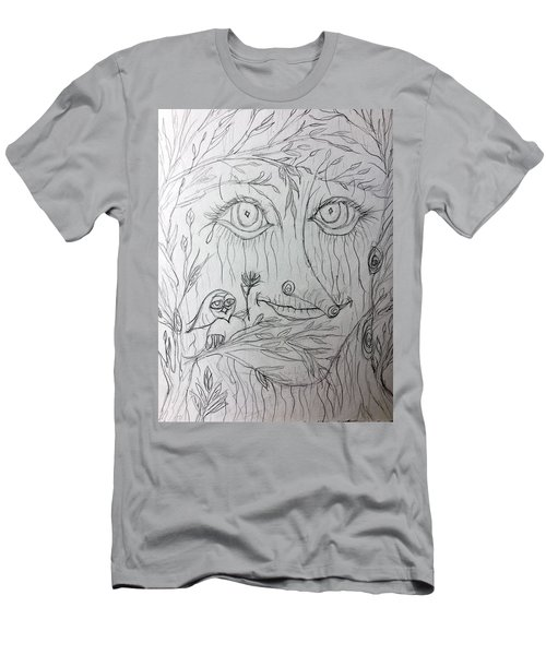 Green Man Of The Forest Men's T-Shirt (Athletic Fit)