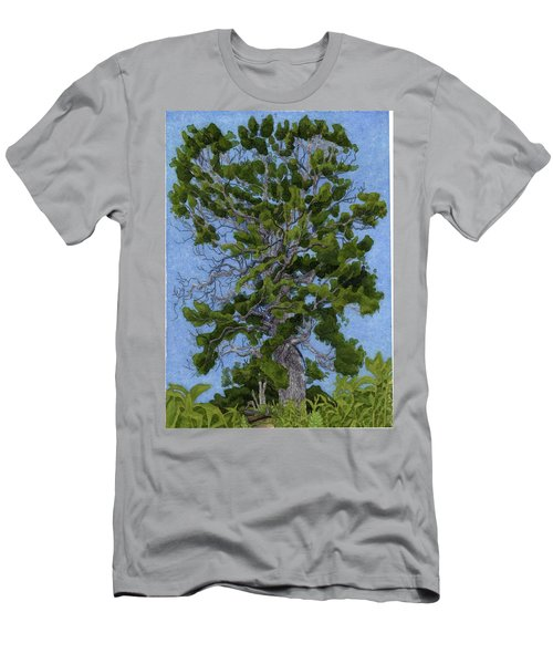 Green Tree, Hot Day Men's T-Shirt (Athletic Fit)