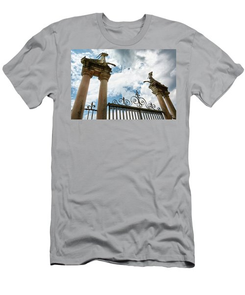 Guarding The Island Men's T-Shirt (Athletic Fit)