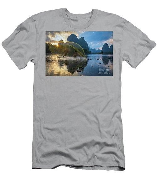 Guilin Net Men's T-Shirt (Athletic Fit)
