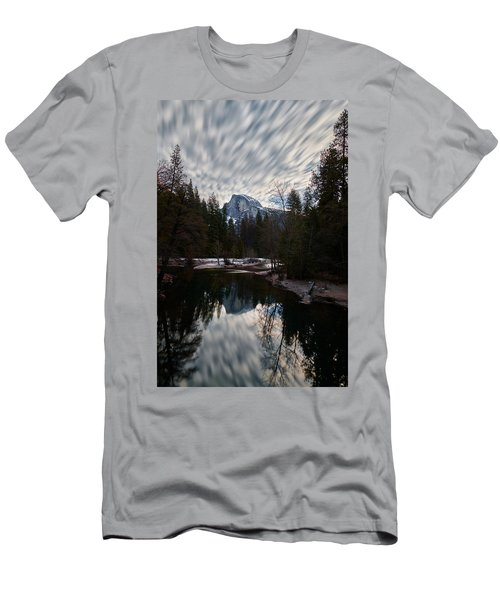 Half Dome Reflection Men's T-Shirt (Athletic Fit)