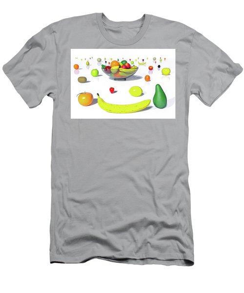 Happy Fruit Men's T-Shirt (Athletic Fit)