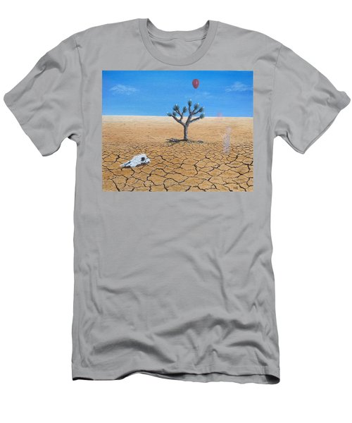 Men's T-Shirt (Athletic Fit) featuring the painting Happy Little Tree by Kevin Daly