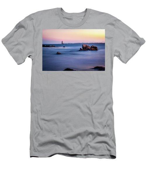 Harbor Light Men's T-Shirt (Athletic Fit)
