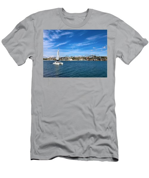 Harbor Sailing Men's T-Shirt (Athletic Fit)