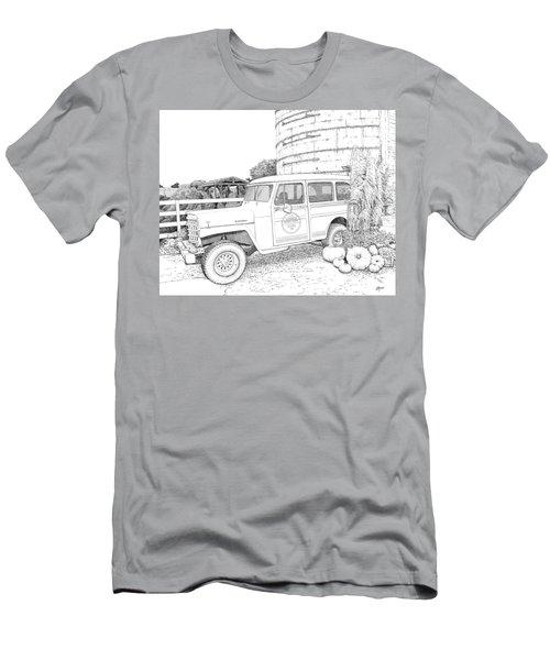 Harvest At Magnolia - Ink Men's T-Shirt (Athletic Fit)