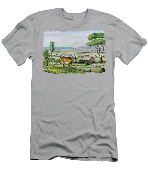 He-goat And Homes Men's T-Shirt (Athletic Fit)
