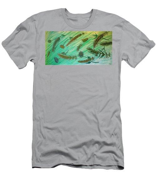 Healing Messages Men's T-Shirt (Athletic Fit)