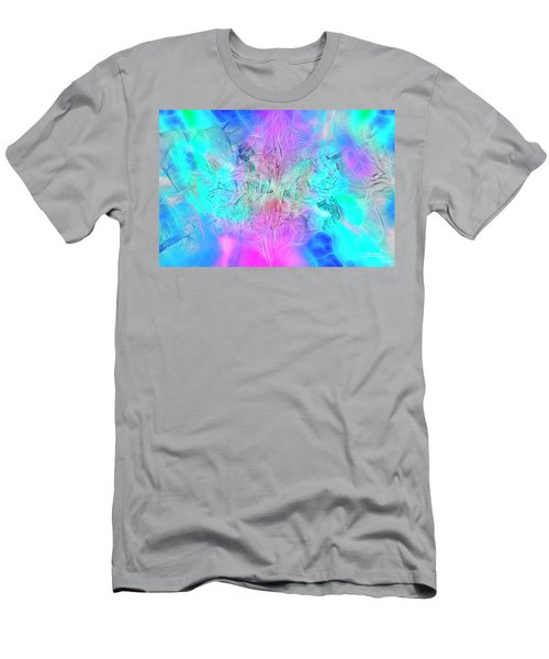 Men's T-Shirt (Athletic Fit) featuring the digital art Heart Of The Beast - Hz by Mike Braun