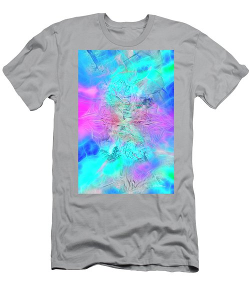 Men's T-Shirt (Athletic Fit) featuring the digital art Heart Of The Beast by Mike Braun