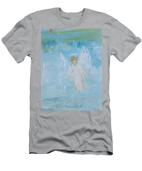 Heavenly Angel Child Men's T-Shirt (Athletic Fit)