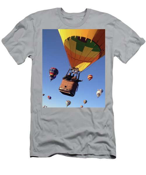 Hi From Up High Men's T-Shirt (Athletic Fit)