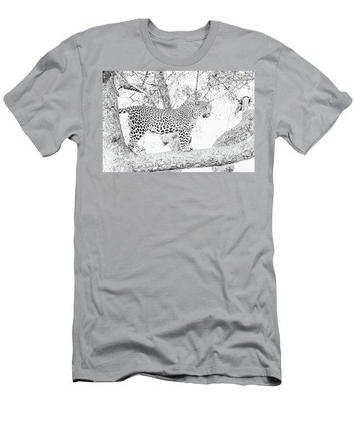 High Key Leopard Men's T-Shirt (Athletic Fit)