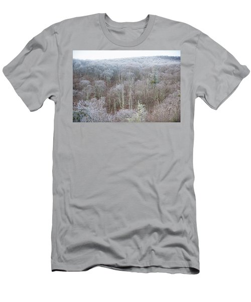 Hoarfrost In The Tree Tops Men's T-Shirt (Athletic Fit)