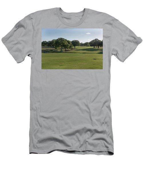 Hole #18 Men's T-Shirt (Athletic Fit)