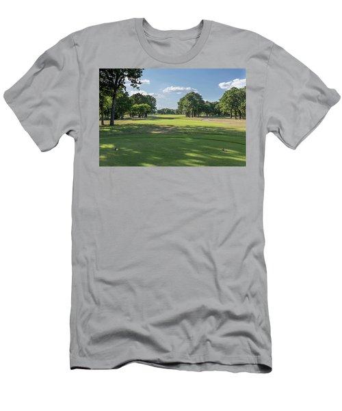 Hole #4 Men's T-Shirt (Athletic Fit)