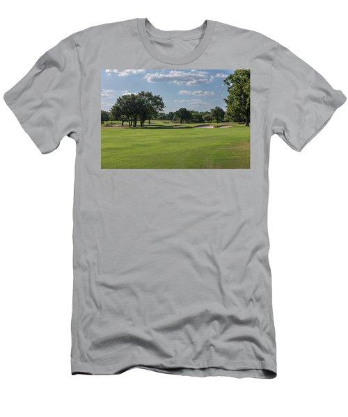 Hole #5 Men's T-Shirt (Athletic Fit)