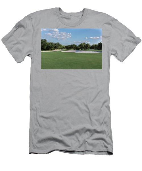 Hole #8 Men's T-Shirt (Athletic Fit)