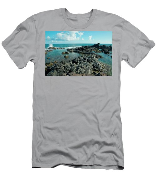 Men's T-Shirt (Athletic Fit) featuring the photograph Hookipa Song Of The Sea by Sharon Mau