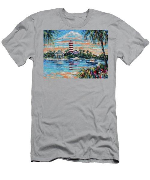 Hopetown Paradise Men's T-Shirt (Athletic Fit)