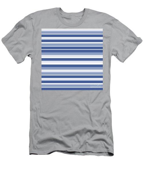 Horizontal Lines Background - Dde607 Men's T-Shirt (Athletic Fit)