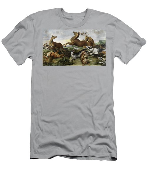 Hunting Men's T-Shirt (Athletic Fit)