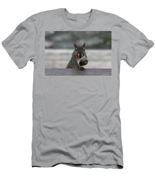 Men's T-Shirt (Athletic Fit) featuring the photograph I Am Back by Trina Ansel