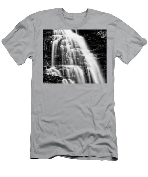 Men's T-Shirt (Athletic Fit) featuring the photograph Icing by Russell Pugh