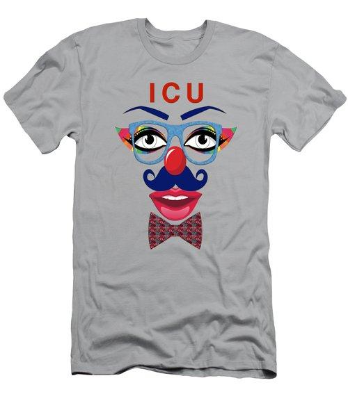 ICU Men's T-Shirt (Athletic Fit)