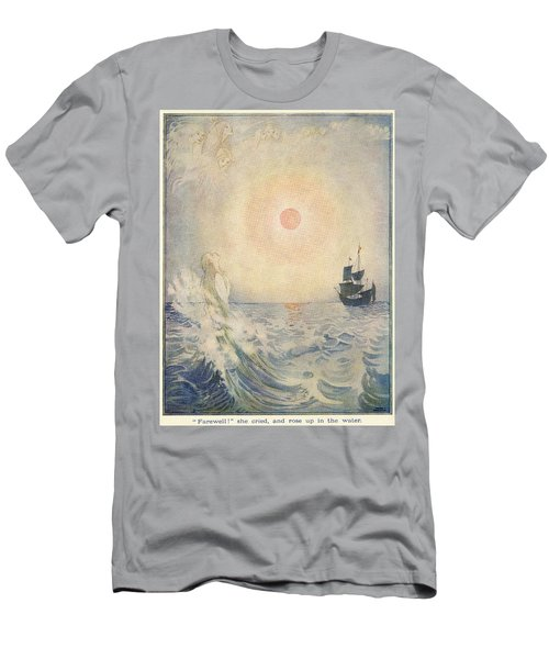 The Little Mermaid, Illustration From  Men's T-Shirt (Athletic Fit)
