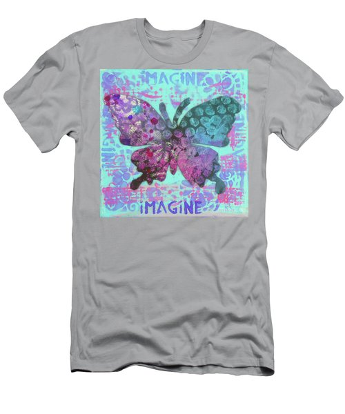 Imagine Butterfly 2 Men's T-Shirt (Athletic Fit)
