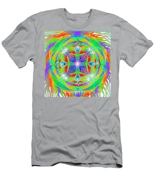 Indian Mandala Men's T-Shirt (Athletic Fit)