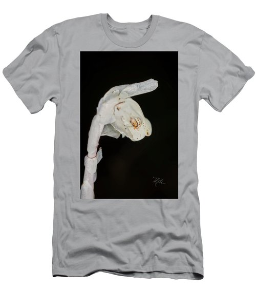 Indian Pipe Rabbit Head Men's T-Shirt (Athletic Fit)