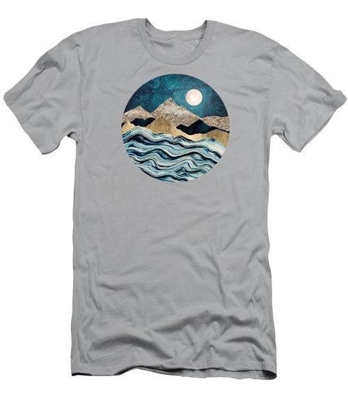 Indigo Sea Men's T-Shirt (Athletic Fit)