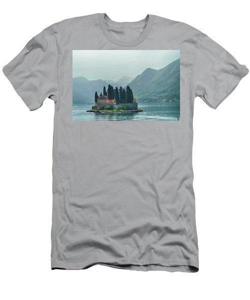 Island Church Of St George Men's T-Shirt (Athletic Fit)
