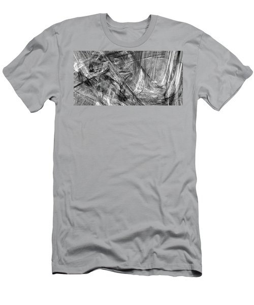 Men's T-Shirt (Athletic Fit) featuring the digital art It Has Been A Busy Day by Angie Tirado