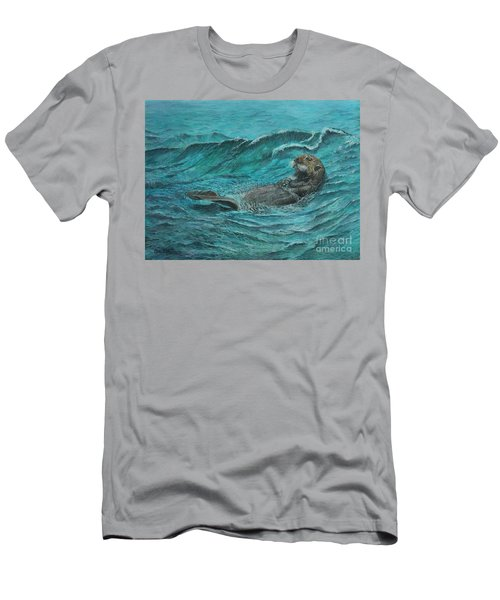It's My Otter Day Off.....sea Otter Men's T-Shirt (Athletic Fit)