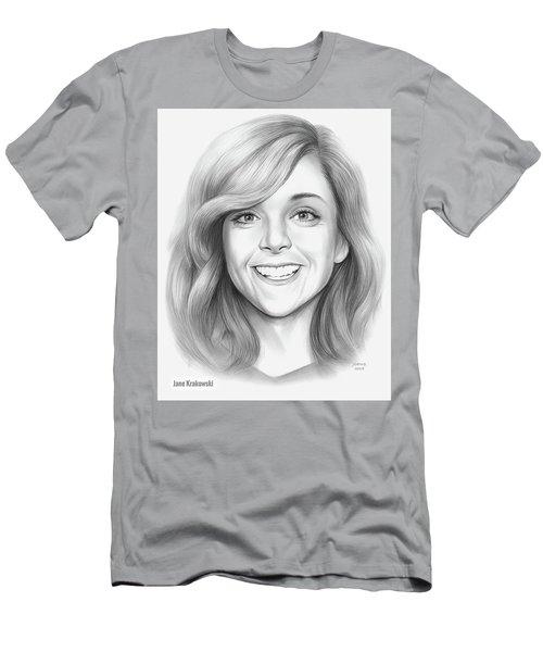 Jane Krakowski Men's T-Shirt (Athletic Fit)