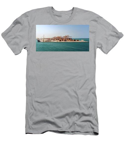 Jeddah Seaport Men's T-Shirt (Athletic Fit)