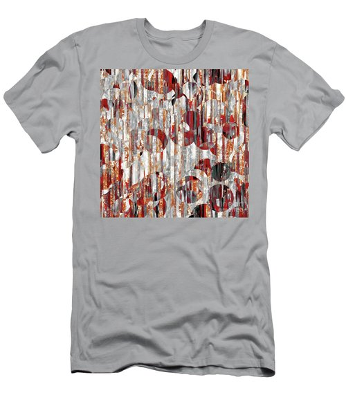 Men's T-Shirt (Athletic Fit) featuring the painting Jesus Christ, A Man Of Sorrows. Isaiah 53 3 by Mark Lawrence