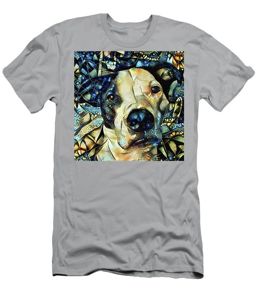 Joshua The Staffordshire Terrier Great Dane Cross Men's T-Shirt (Athletic Fit)