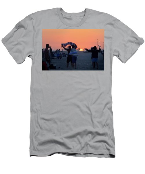 Men's T-Shirt (Athletic Fit) featuring the photograph Just Another California Sunset by Ron Cline