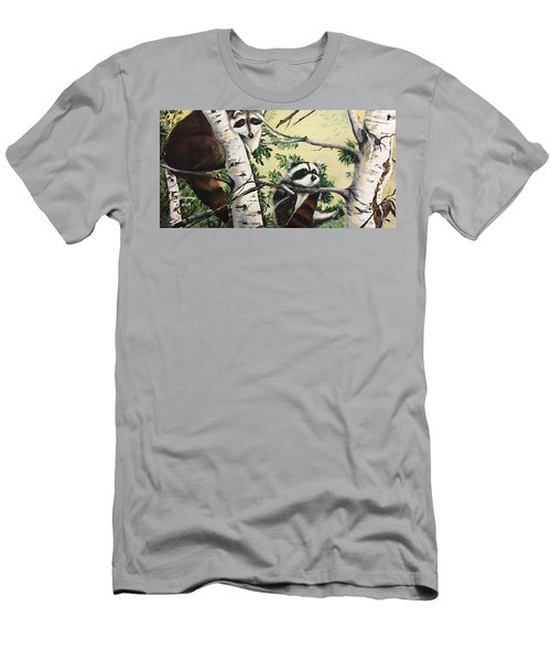 Just Hanging In There  Men's T-Shirt (Athletic Fit)
