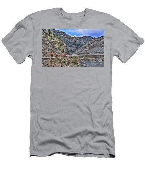 Just Passing Through Men's T-Shirt (Athletic Fit)