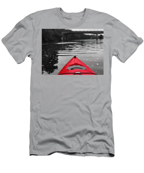 Kayaking The Occoquan Men's T-Shirt (Athletic Fit)