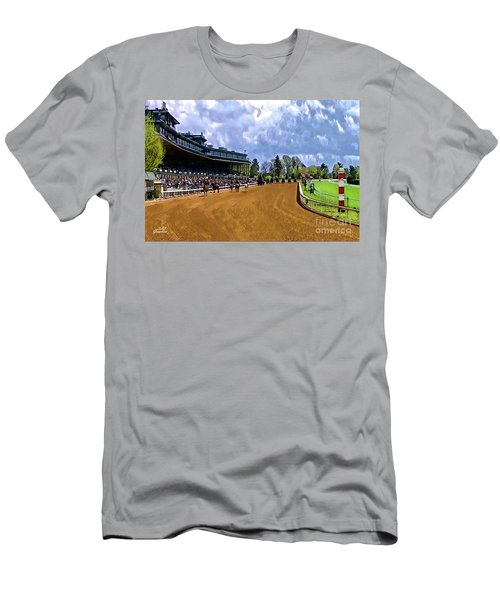 Keeneland The Stretch Men's T-Shirt (Athletic Fit)