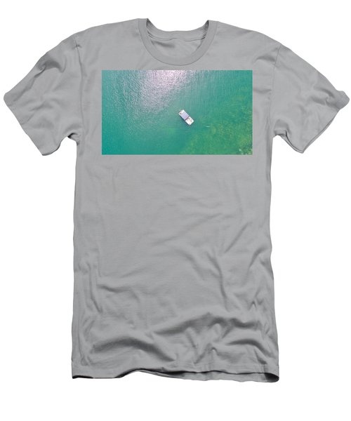Keuka Lake Boating Men's T-Shirt (Athletic Fit)